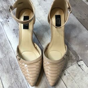 Jones New York Signature Nude Heels 7.5